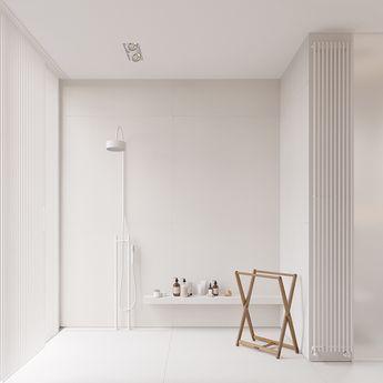 Minimalist interior design is by Igor Sirotov