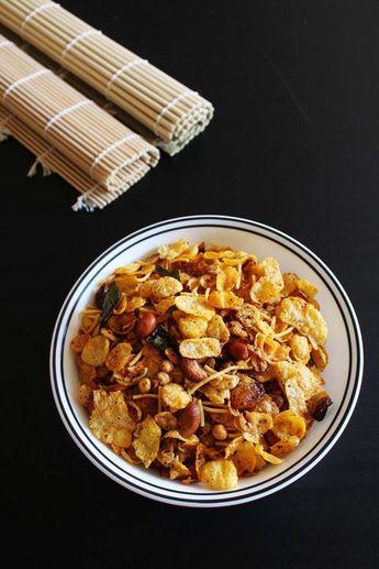 Cereal chivda recipe (Chevdo)