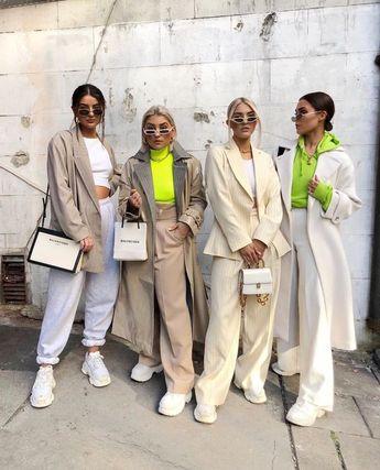 Bold neon yellow crop tops. #bold #neon #crop #croptop #designer #streetstyle #yellow #model #ontrend #trend #style #fashion #look #ootd