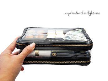 Anya Hindmarch In-flight Travel Case