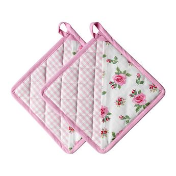 EVALILL Pot holder IKEA Inner liner of quilted polyester provides very good heat insulation. / / like this design with the pocket