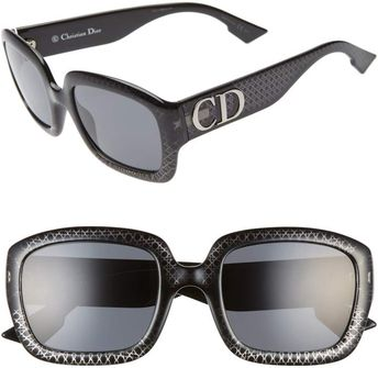 cced69328164 ... COSTA DEL MAR BROADBILL POLARIZED BRB11 OSSP SUNGLASSES BLACK/SUNRISE  580P LENS. Christian Dior 54mm Square Sunglasses