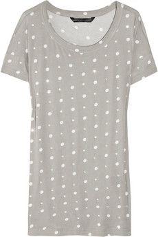 Marc by Marc Jacobs Jo Jo crystal polka-dot cotton T-shirt