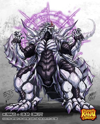 •Colossal Kaiju Combat - Xerimus by KaijuSamurai