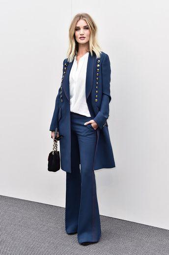 Rosie Huntington-Whiteley Photos Photos: Burberry Womenswear February 2016 Show - Arrivals
