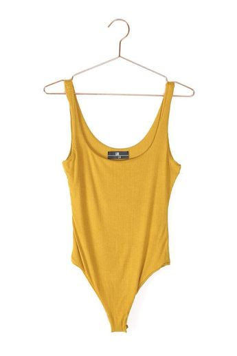 Rib Knit Tank Bodysuit