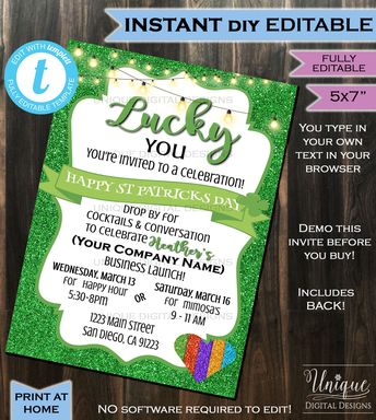 Rodan Fields Invitation Business Launch Party Bbl Invite R
