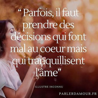 Le genre de décision atrocement difficile à prendre 💔 . . . . #parlerdamour ❤️ #quotes #quoteoftheday #citationamour #citation #citationdujour #penseepositive #penseedujour #developpementpersonnel #amour #bienetre #triste #texte #phraseoftheday #phrasedujour #bestoftheday #love #lovequotes #amour #carpediem #positivevibes