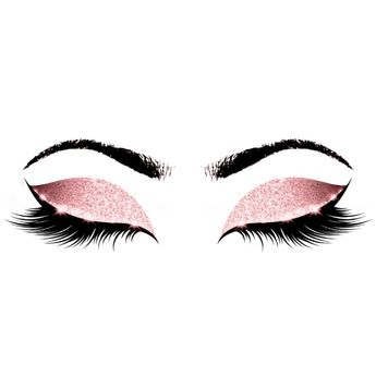 Princess Pink Makeup Artist Lashes Beauty Studio Appointment Card | Zazzle.com