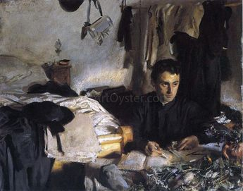 Padre Sebastiano (also known as Padre Albera) by John Singer Sargent - Hand Painted Oil Painting