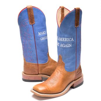 88342d49f7911 BootDaddy with Anderson Bean Womens Make America Great Boots