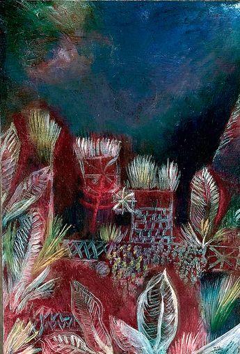 Paul Klee [Tropical Twilight]