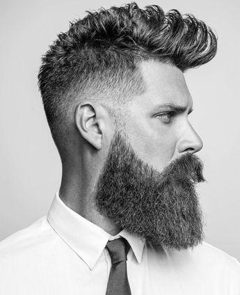 Square beard shape: A barba quadrada que está em alta