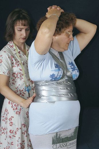 Close-Fit Duct-Tape Dress Form