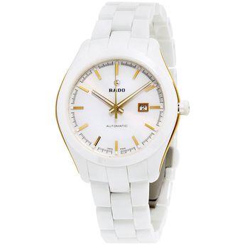 Rado R32257012 Womens Hyperchrome Ceramic White Quartz Watch