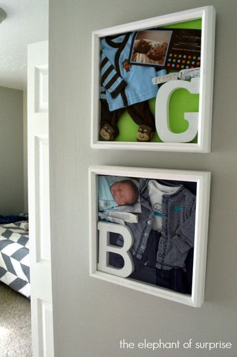 Baby Keepsake Shadow Box – Showcase those Memories! One of my most popular pins!!!