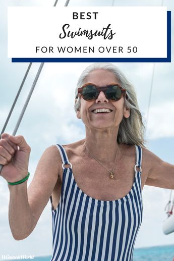 15 Stylish Swimsuits for Women Over 50