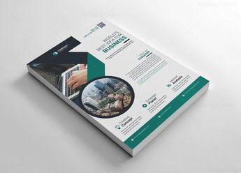 Creative Layered Flyers Templates 002652 - Template Catalog