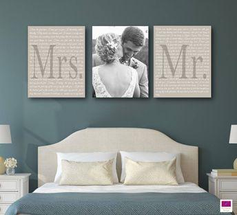 Wedding Vow Art - set of 3
