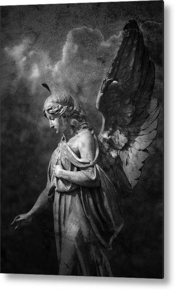Angel Metal Print by Marc Huebner
