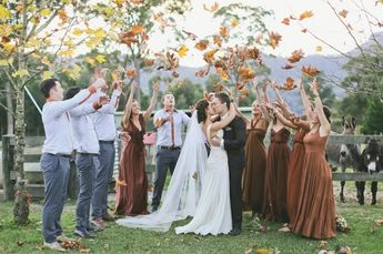 5 Must Haves for The Perfect Autumn Wedding