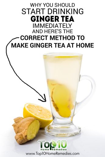 DIY Ginger Tea and Its Health Benefits