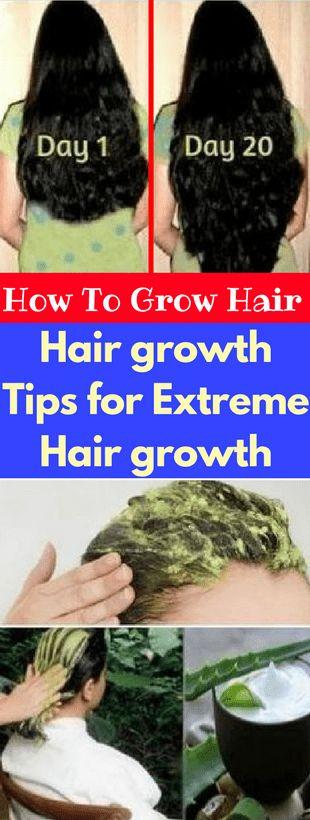 How To Grow Hair- Hair growth Tips for Extreme Hair growth