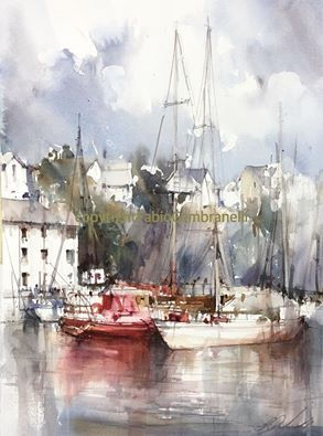 Art Club International - Fabio Cembranelli Watercolor Workshops in Toronto Canada