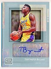 2017-18 Status Thomas Bryant Signatures Autograph Auto Rookie Rc #SG-TBT