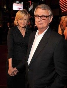 """He's generous and adventurous and a little wild and utterly kind. It's that combination of something you're completely sure of and something dangerous and interesting. And he's also the funniest man on the face of the earth.""- Diane Sawyer talking about her husband, Director Mike Nichols (married since 1988)"