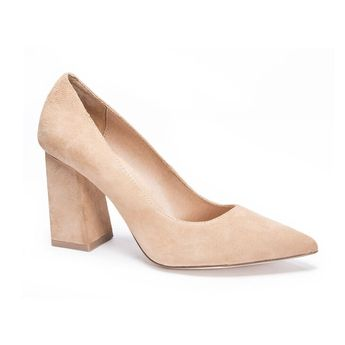 Kyra Kid Suede Pump | Chinese Laundry