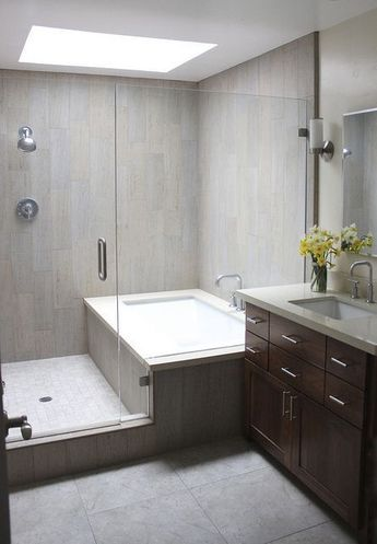 How to Redesign a Bathroom that's too Big