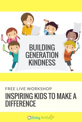 FREE WORKSHOP: Pathway to Giving: Helping Kids Experience the Joy of Spreading Kindness