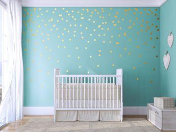 Polka dots - Wall decals - kids wall decals - polka dot wall stickers - polka dot wallpaper - wall decor stickers - circle wallpaper