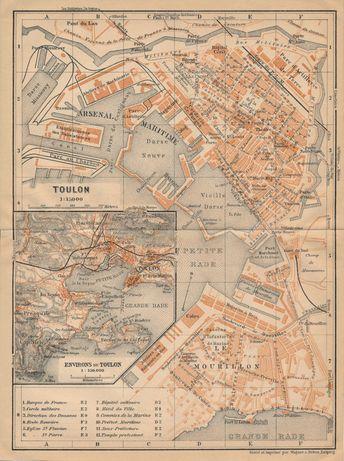 1961 Rotterdam Netherlands (Holland) Vintage Map