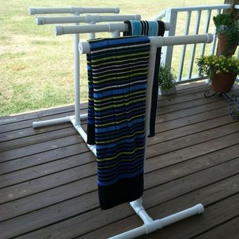 20+ BEST PVC TOWEL RACK FOR POOL IS PRACTICAL TO USE