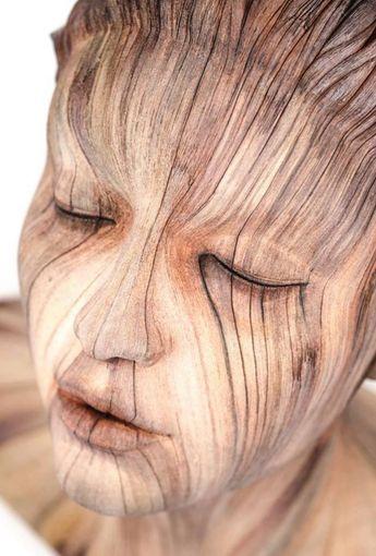 20 sculptures de bois tellement réalistes qu'elles vous donneront des frissons