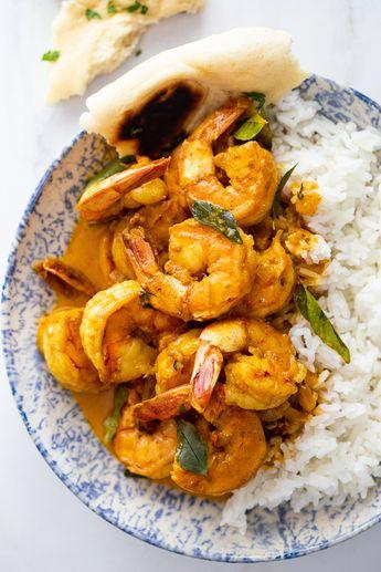 Creamy shrimp curry - Simply Delicious