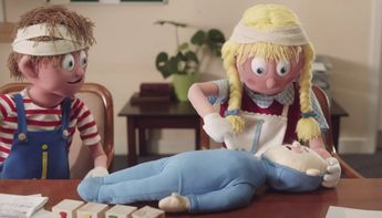 This 2-Minute Cartoon Teaches Infant CPR And Should Be Shared With Every Parent You Know