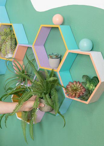 A Living Wall DIY / via Oh Joy!