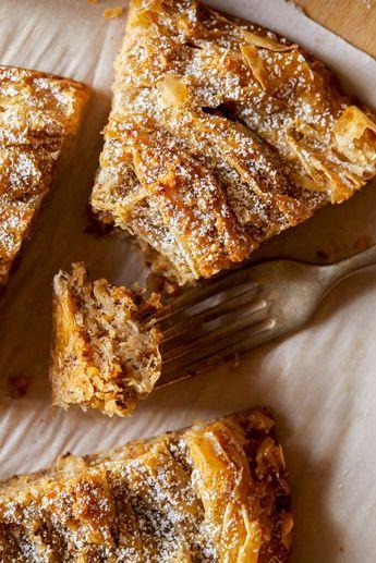 Chai Spiced Ruffled Milk Pie