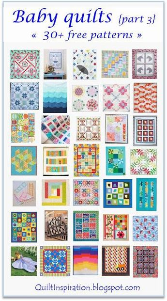 Free pattern day:  Baby quilts!  (part 3)