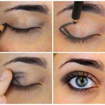 Quand vous n'avez pas envie de trop vous maquiller mais juste souligner votre regard, ce petit tracé fera parfaitement l'affaire.