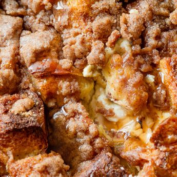 Baked Cream Cheese French Toast Casserole