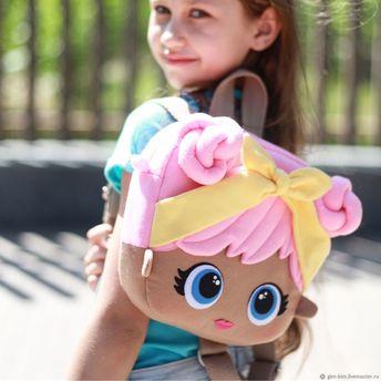 Рюкзаки ручной работы. НОВИНКА! Коллекция детских рюкзачков в стиле DOLL LOL. Баркалова Инна. Интернет-магазин Ярмарка Мастеров.