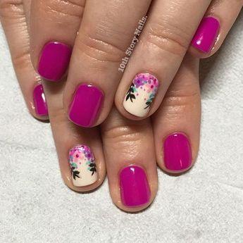56 Elegant Spring Floral Nail Art Designs