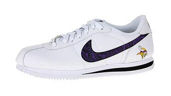 c18df35b Bandana Fever Bandana Minnesota Vikings Print Custom White/Black Nike  Cortez Shoes