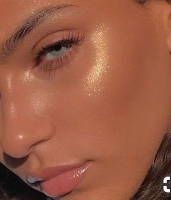 maquillage de la peau de verre