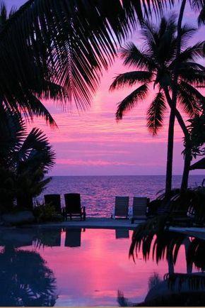 Sunset in Hawaii / Pacific ParadiseBy Thomas Ruecker