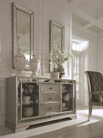 Birlanny Silver Dining Room Server